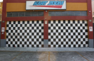 Fachada da Kart Zoom