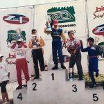 1° Xandinho Negrão, 2° Marcos Gomes, 3° Átila Abreu, 4° Daniel Serra, todos pilotos da Kart Zoom com sucesso na Stock Car