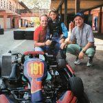 Rubinho, Dudu Barrichello e Vitão