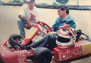 Vitão e Nelson Piquet