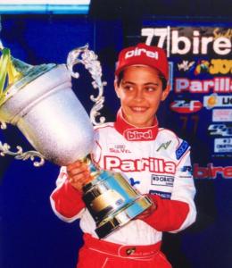 Átila Abreu Campeão Brasileiro de kart 1999